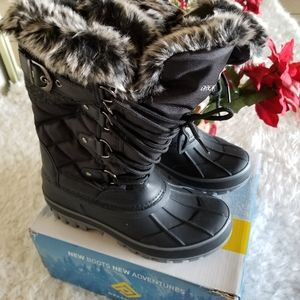 Dream Pairs Boys & Girls Mid Calf Winter Boots